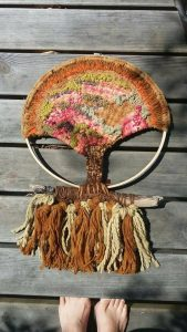 árvore africana, tecelagem